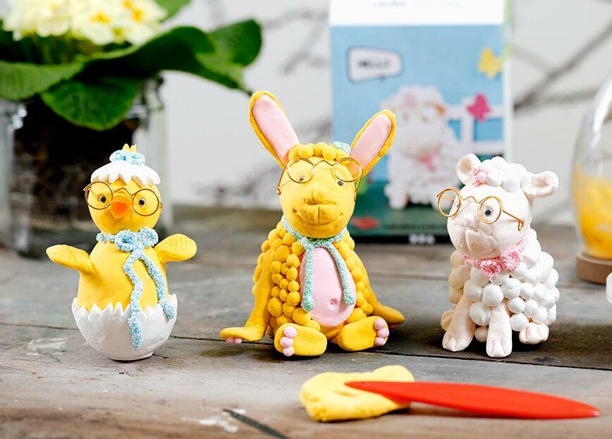 Paasdecoraties met nieuws voor Pasen