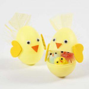 Paasei: Tweedelig paasei met verrassingselement voor Pasen