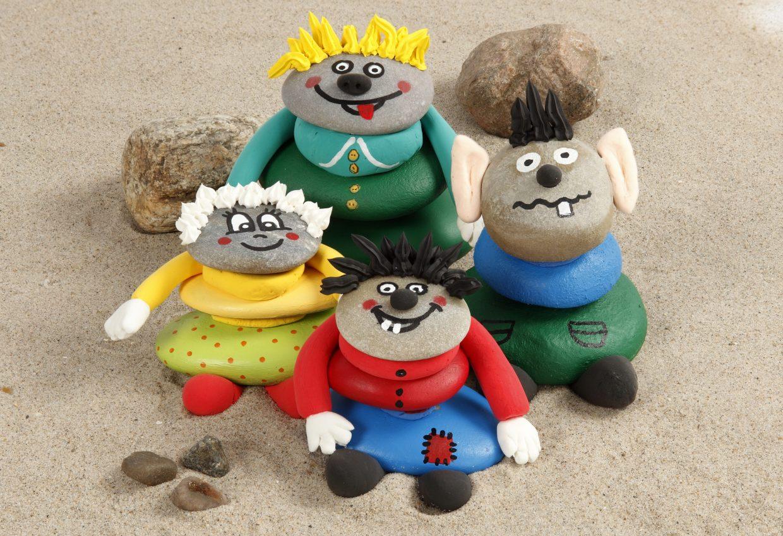 Creatieve ideeën voor kinderen - met inspiratie voor het versieren van stenen