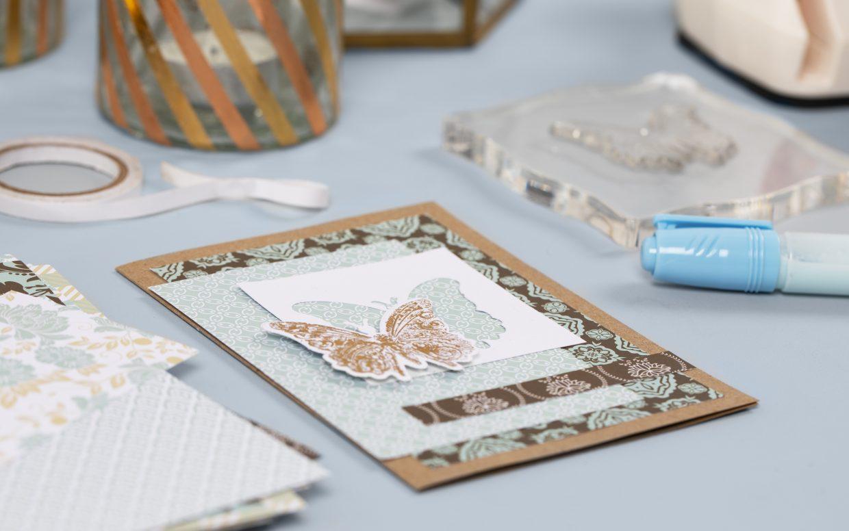 wees creatief met deco-folie, stans en embossing machine voor kaarten maken