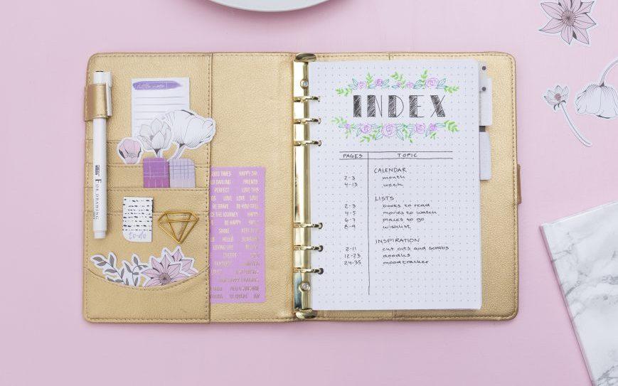Maak zelf een bullet journal of planner - vind inspiratie en ideeën hier