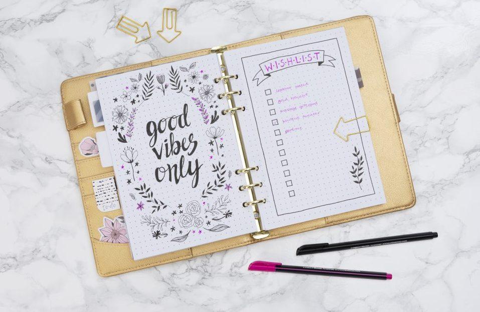 maak zelf een bullet journal of planner - vind hier meer inspiratie en hobbyartikelen