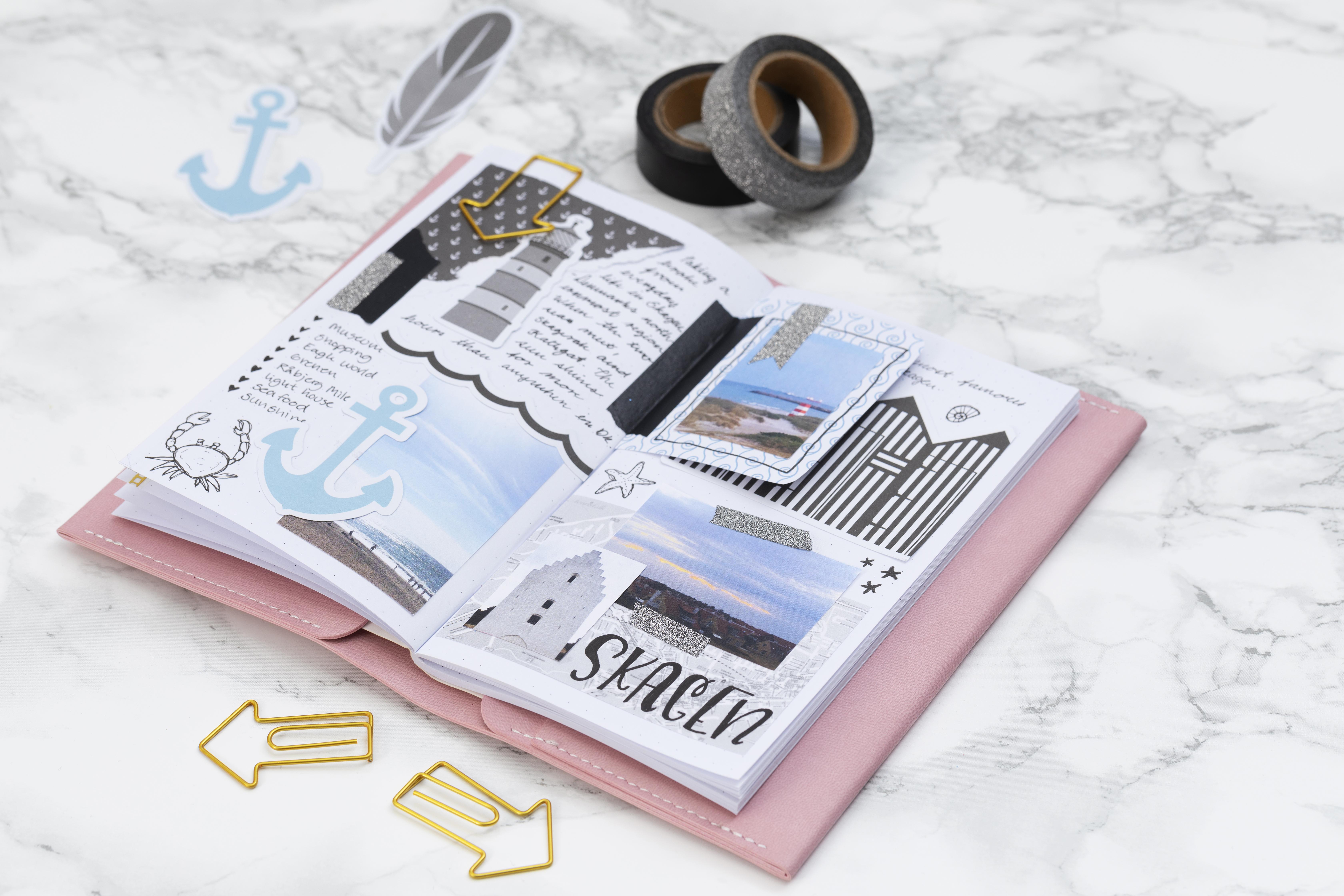 Maak zelf een journal of planner - vind ideeën en hobbyartikelen hier