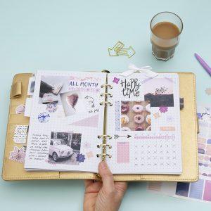 Lav selv en bullet journal og planner - find inspiration og idéer her