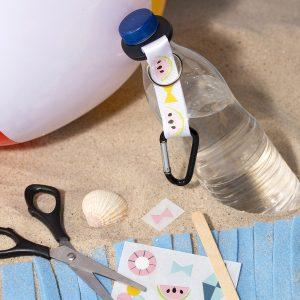 creatieve vakantie met kinderen - decoreer met rub-on stickers