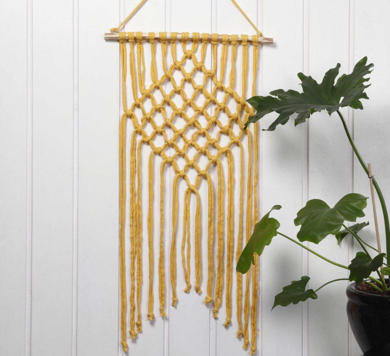 Creatieve ideeën met garen - haken, breien, borduren met punchnaald, DIY-wandkleden