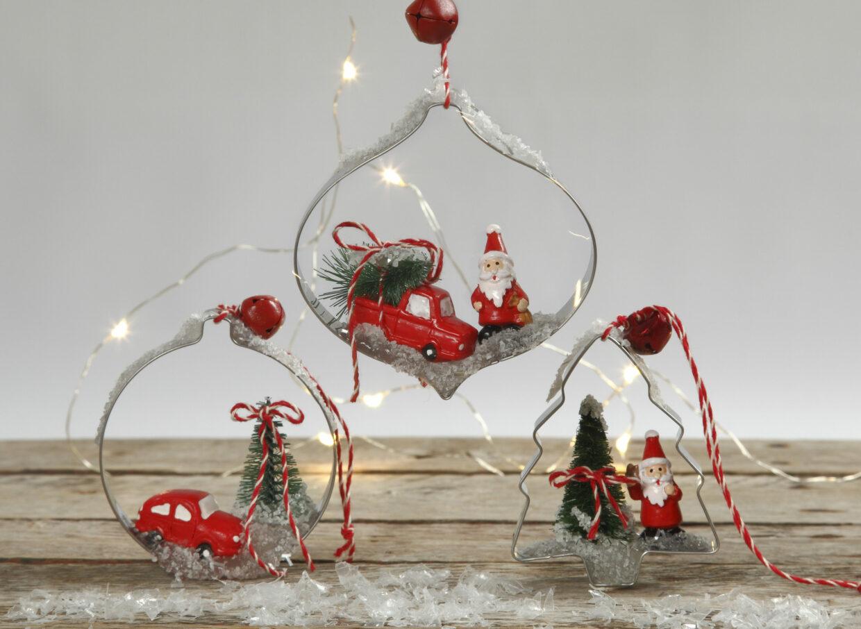 DIY met uitstekers voor kerstversiering