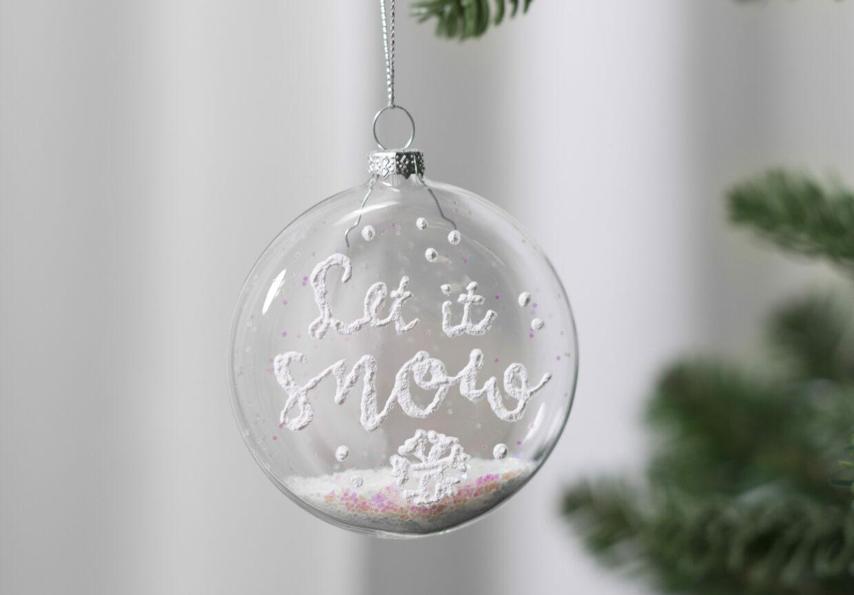 DIY kerstballen voor wie van zelfgemaakte kerstversieringen houdt