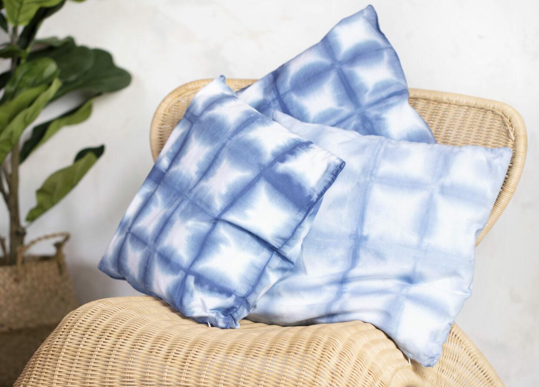 Wees creatief met batik (tie-dye) en textieldecoratie (shibori)