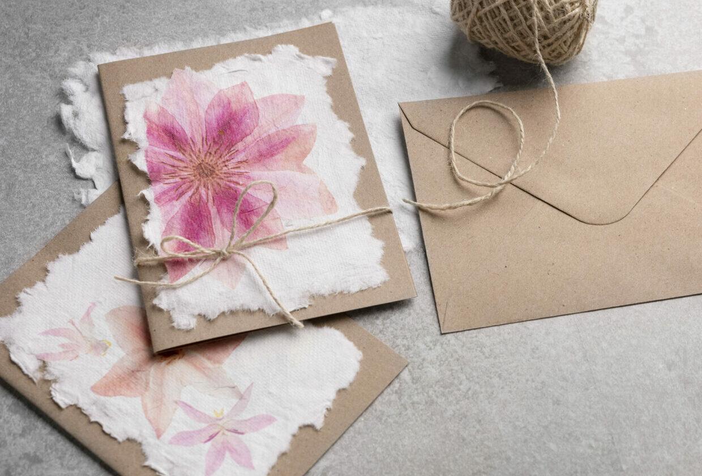 papier zelf maken, handgeschept kun je thuis maken