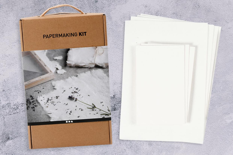 zelfgemaakt papier, papier scheppen doe je zo